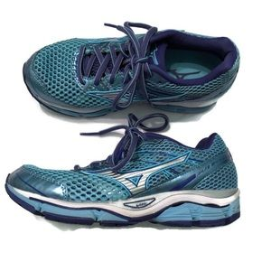 Mizuno Womens Running Shoe Wave Enigma 5 Blue 6.5